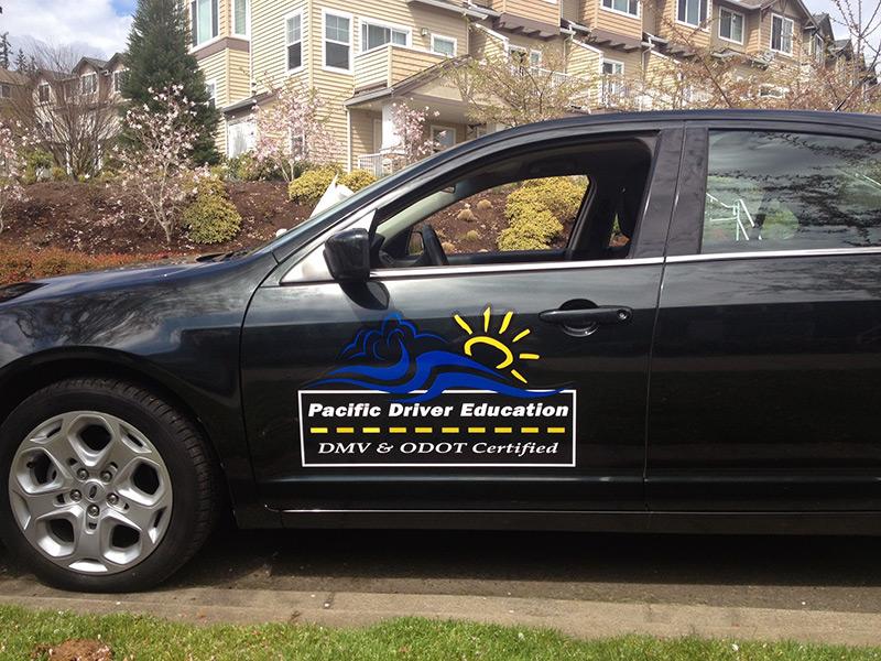 Custom Vehicle Door Logos Lettering Portland