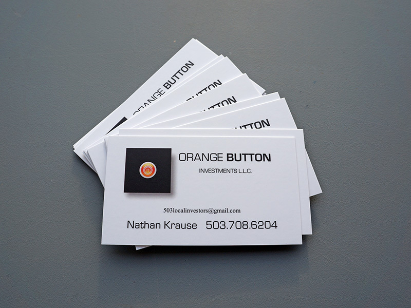 16pt Silk Finish Business Cards Printed