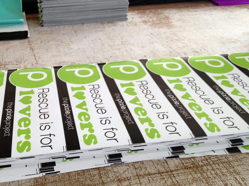 Full Color Printed Custom Bumper Stickers