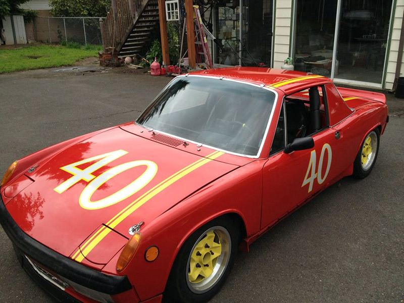 Custom Race Car Numbers Striping
