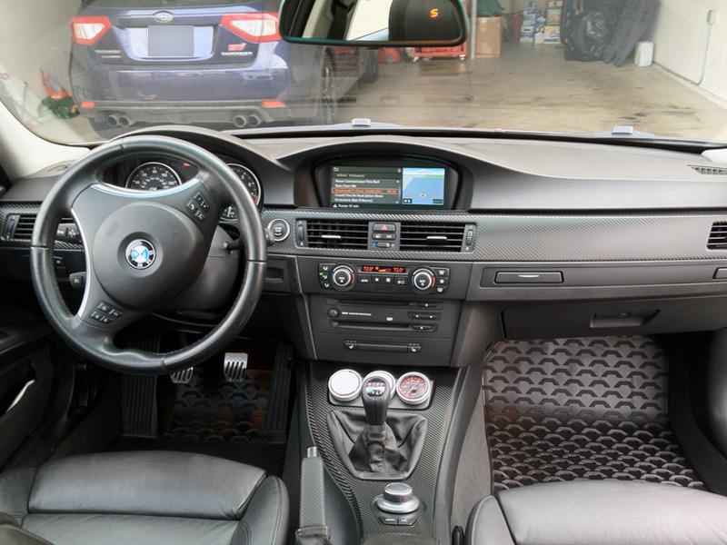 BMW 325 Interior Trim Carbon Fiber Wrap 1080 Di Noc