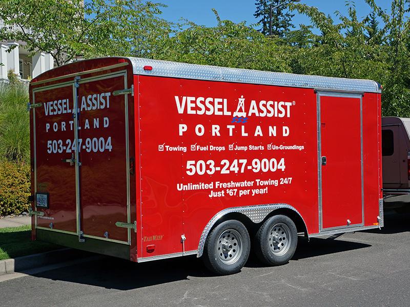 Portland Vessel Assist Trailer Graphics Oregon
