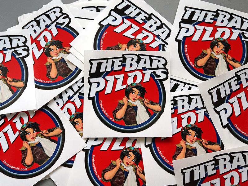 Custom Printed Stickers Laminated Portland Beaverton