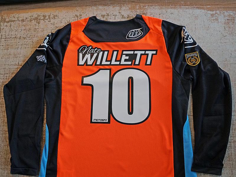Custom Motocross MX Jersey Printed Name Number Portland Beaverton PDX