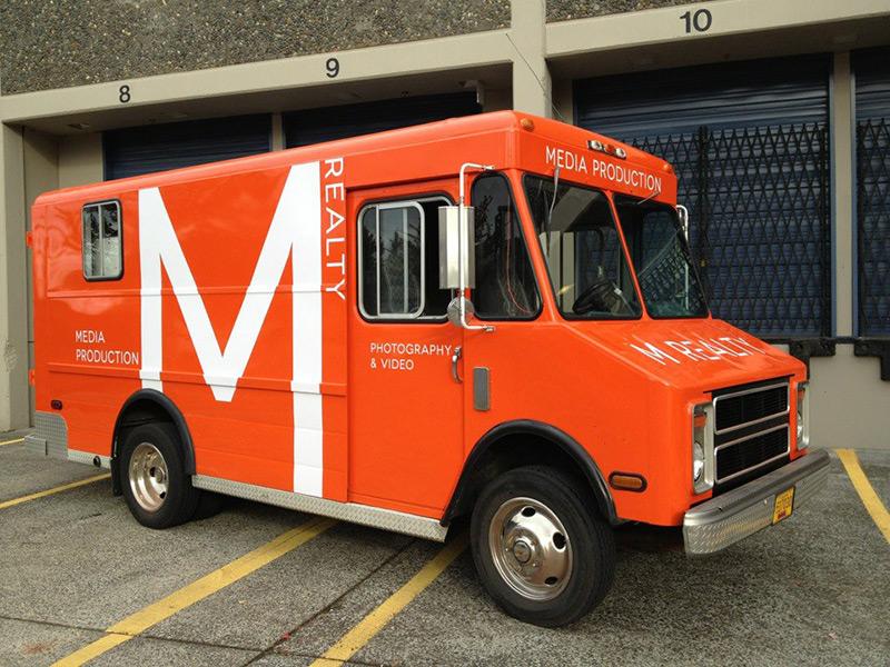 Custom Vehicle Branding Lettering Portland