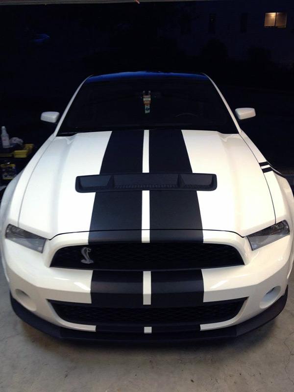 Custom Flat Black Stripe Kit Cars Portland