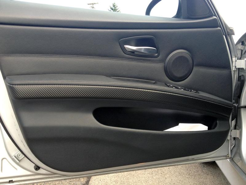 BMW 325 Door Panel Interior Trim Wrap Carbon Fiber Portland