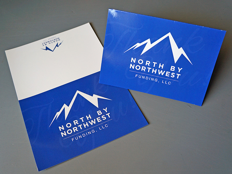 Custom Printed Greeting Thank You Cards Portland Oregon