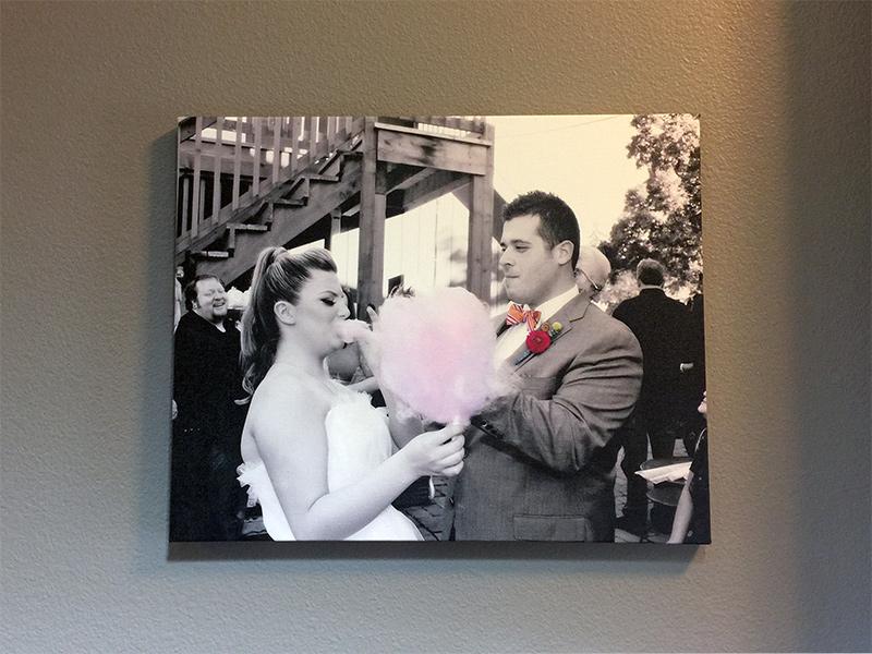 Wedding Canvas, Custom Wedding Photo, Gallery Wrap Canvas Printed